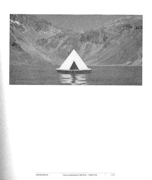 Otto Beck und Bruno Strobl, Eine musikale Arche-Tektur, Biennale Intart. Bildnachweis: Otto Beck