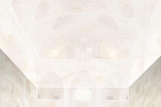 Armin Guerino, Titel: Arche, Beitrag zu Kunst im Dom 2005. Foto: Armin Guerino