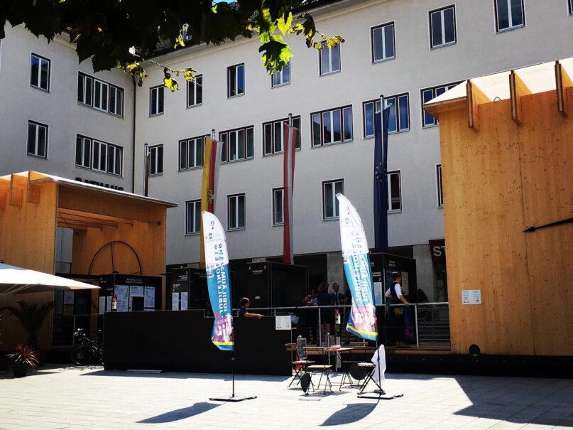 100 Jahre Kärntner Volksabstimmung - CARINTIja 2020: Mobile Ausstellung Villach, Foto: CARINTHIja 2020