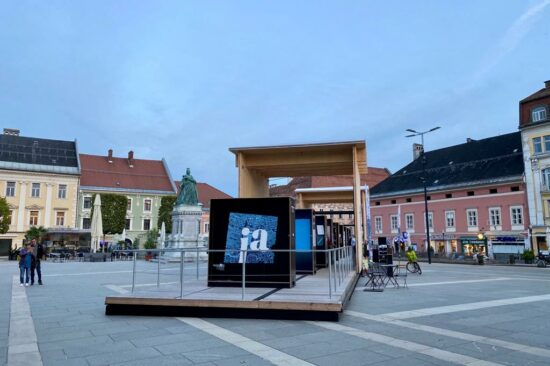 100 Jahre Kärntner Volksabstimmung - CARINTIja 2020: Mobile Ausstellung, Foto: Wolfgang Giegler