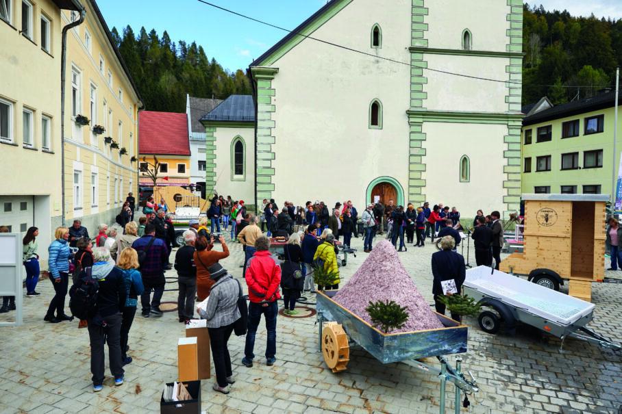 Pullfaktor - Festzug der Tiere, UNIKUM - Carinth Ja2020, Bad Eisenkappel, Kärnten, Foto: Johannes Puch