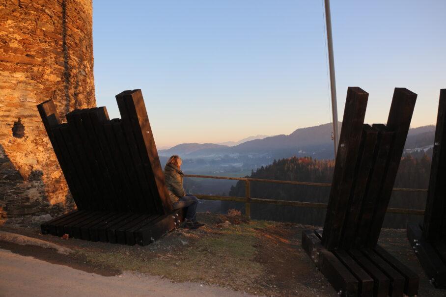 """""""Wie auf Wolke Sieben"""" von Tomas Hoke, Fotocredits: Tourismusregion Mittelkärnten"""